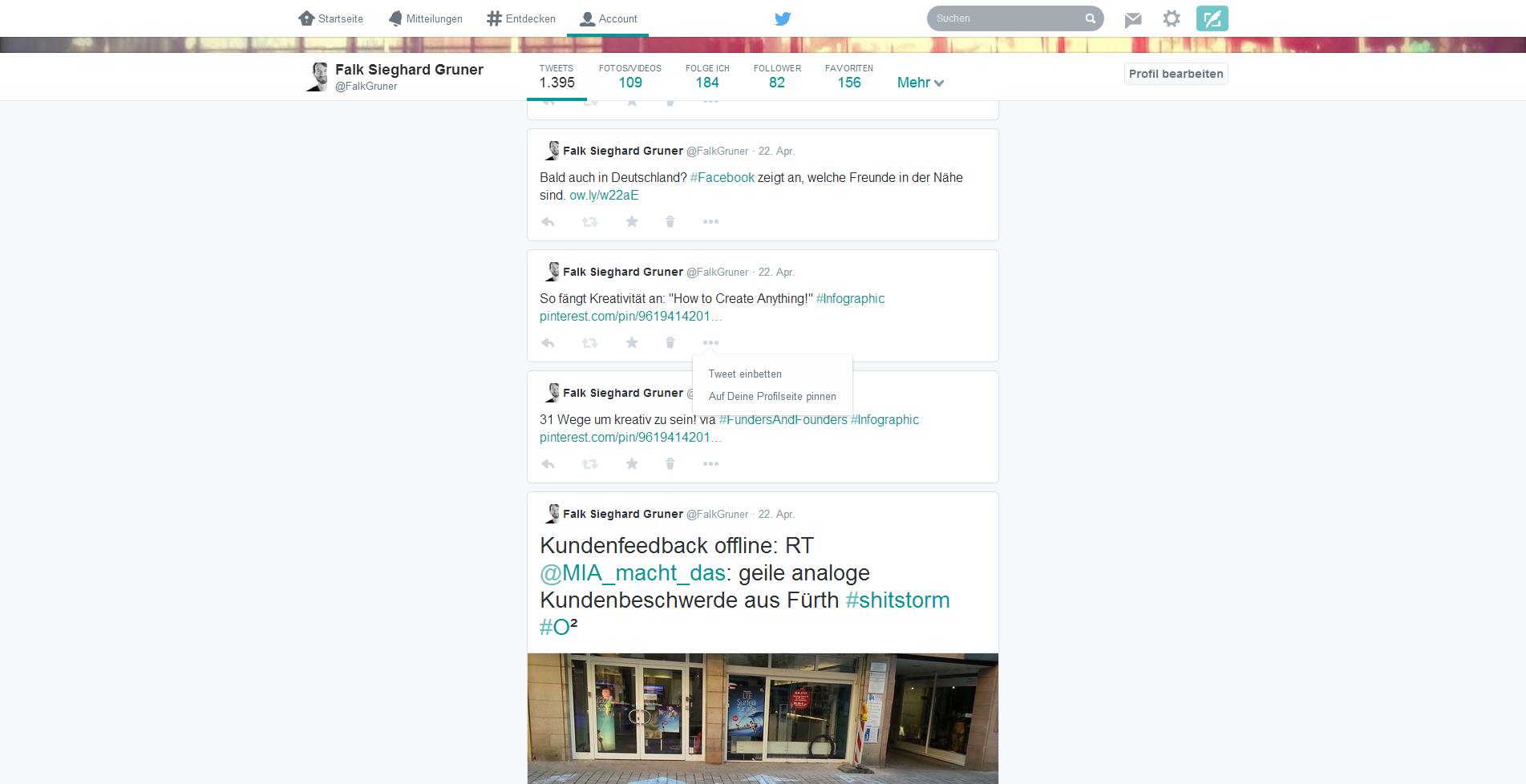 Twitter - relevante Tweets im neuen Design