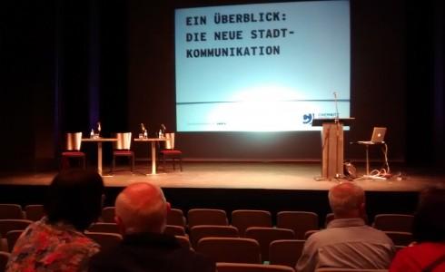 Vorstellung der Kommunikatonskampagne Die Stadt bin ich - Chemnitz