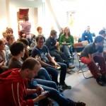 Volles Myblögchen Haus bei unserer Session zu Social Media und SEO bei Blogs