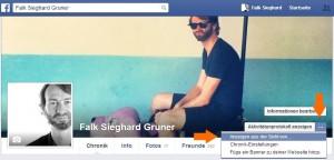 Wie sieht mein Facebook Profil für andere aus? (1)