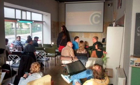 Social Media Talk Chemnitz April 2015 - organisiert von Maike Riedel (Like Agentur) und Falk Sieghard Gruner (medienspinnerei)