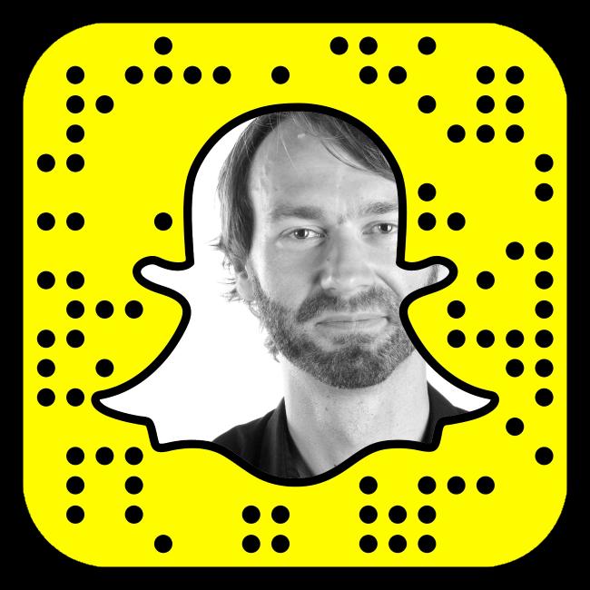 Grüner Snapchat
