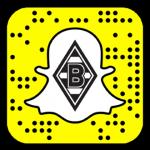 Snapcode von Borussia Mönchengladbach - Snapchat - medienspinnerei