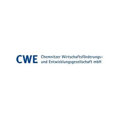 CWE Chemnitz Logo Portfolio medienspinnerei