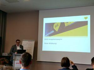 Peter Wittkamp von der Weil wir dich lieben Kampagne der BVG